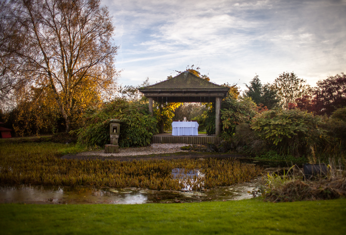 The Water Gardens At Greens At Gretna Hotel Wedding Venue