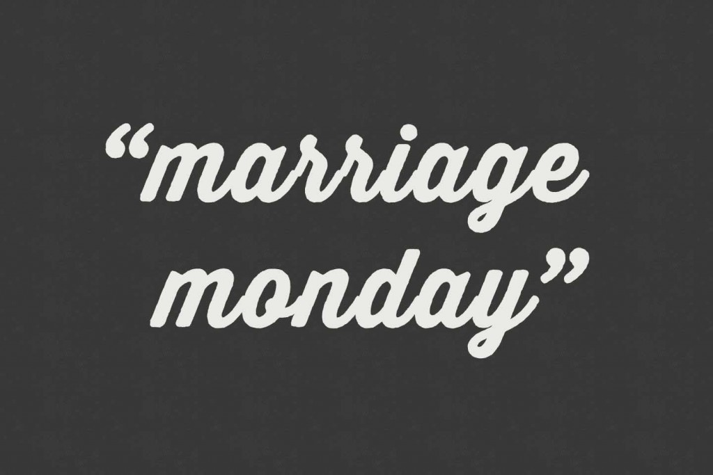 Marriage-Mondays
