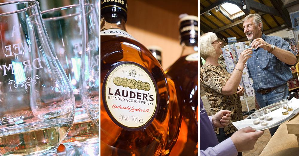 Whisky Tasting at Greens at Gretna Hotel