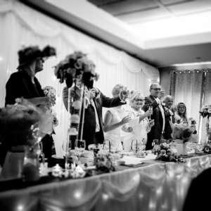 Blacksmiths 20 Guest Wedding at Greens Hotel, Gretna