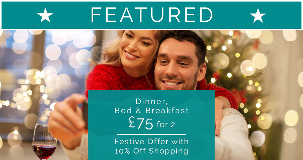 Greens Festive £75 DBB Featured Offer Oct 19